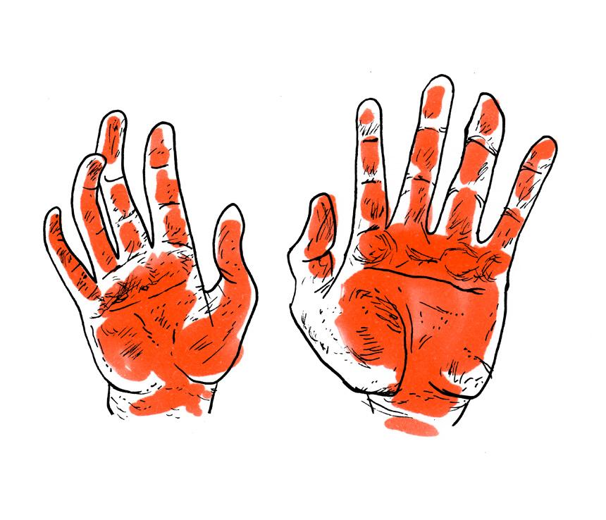 """""""Houdt uw handen schoon"""""""